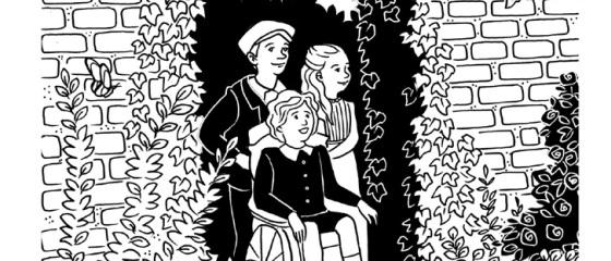 סוד הגן הנעלם מאת פרנסס הודג'סון ברנט תרגמה הגר ינאי